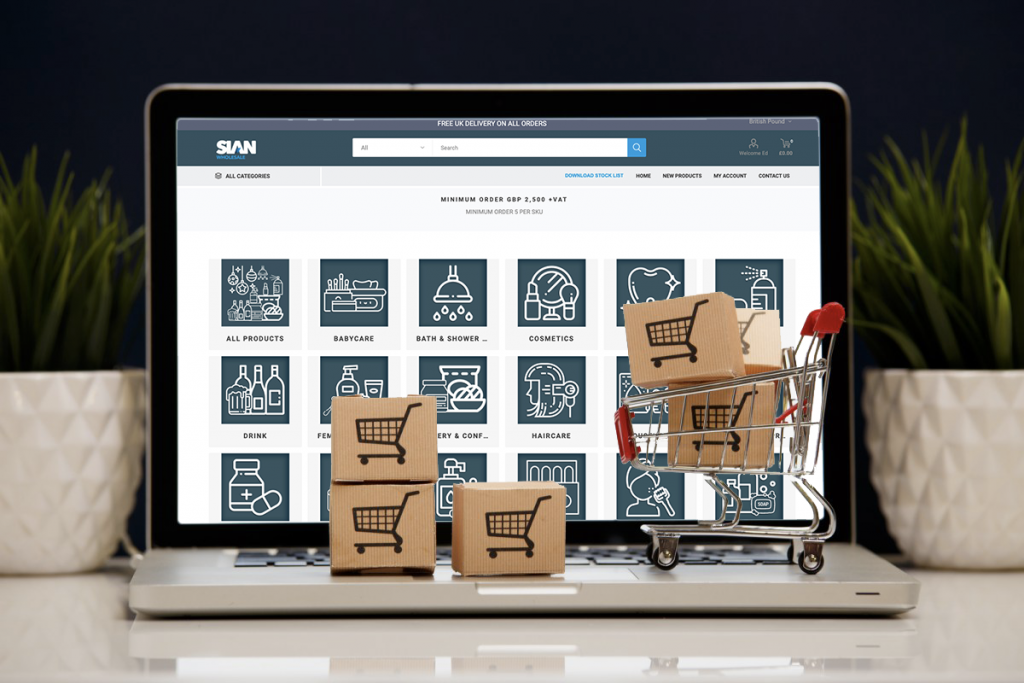 SIAN Wholesales Online Shopping Portal