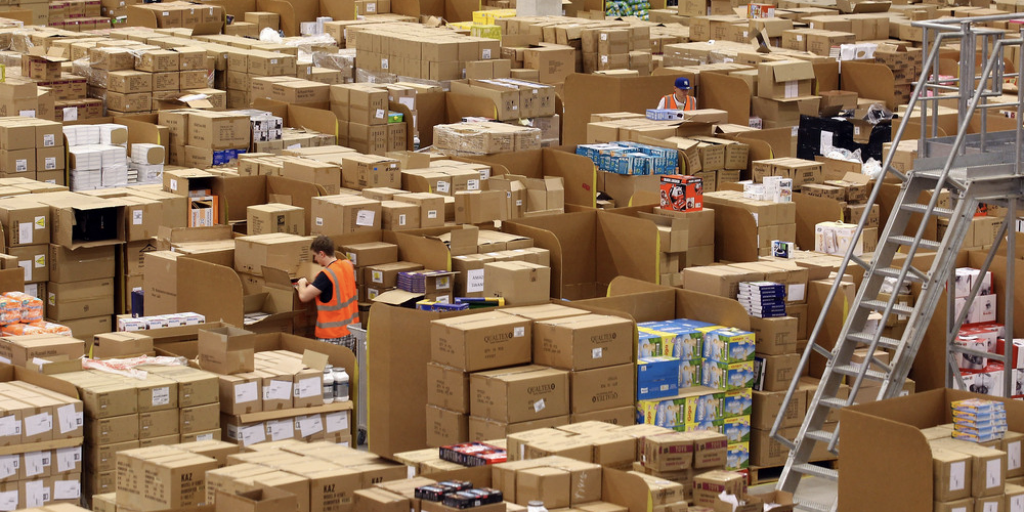 stock excess in warehouse