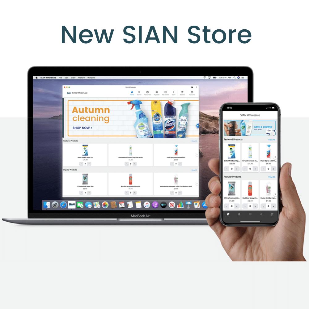 SIAN Store - Website Thumbnail